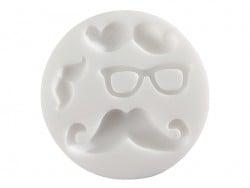 Acheter Mini moule en silicone moustache - 5,10€ en ligne sur La Petite Epicerie - 100% Loisirs créatifs