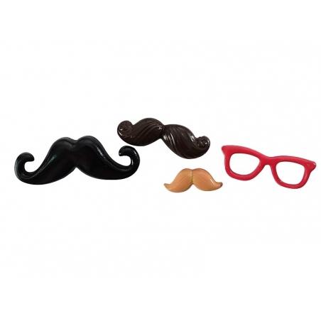 Acheter Mini moule en silicone moustache - 5,10€ en ligne sur La Petite Epicerie - Loisirs créatifs