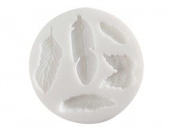 Small silicone mould - Feathers
