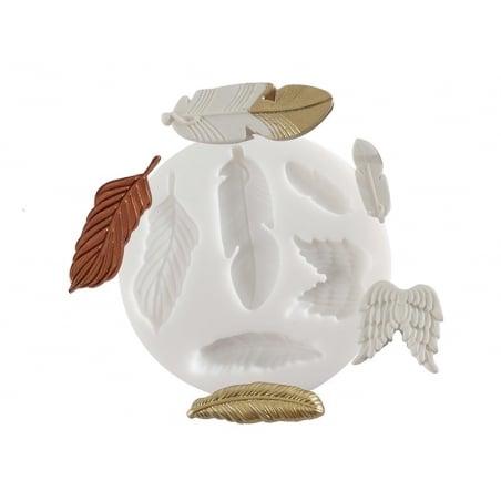 Acheter Mini moule en silicone plumes - 5,10€ en ligne sur La Petite Epicerie - 100% Loisirs créatifs