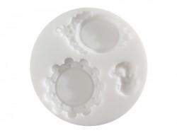 Small silicone mould - Cameos