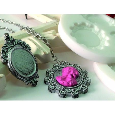 Acheter Mini moule en silicone camées - 5,10€ en ligne sur La Petite Epicerie - Loisirs créatifs