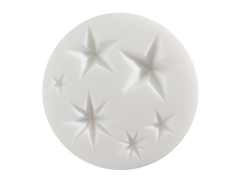 Small silicone mould - Stars