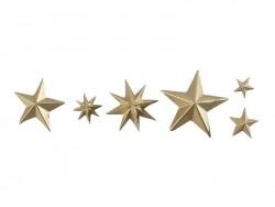 Kleine Silikonform - Sterne