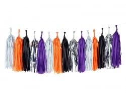 """Halloween"" tassel garland / pom-poms - My Little Day"