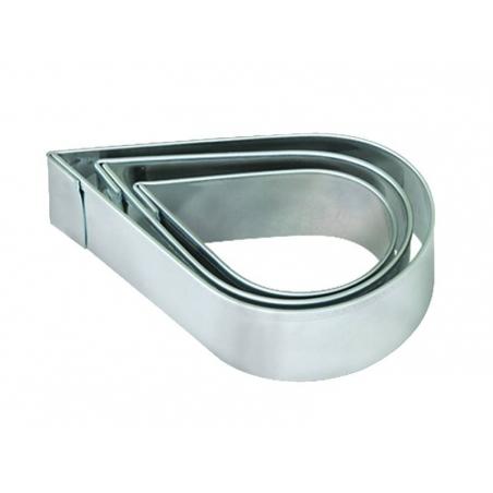 Acheter 3 emporte-pièces gouttes en métal - 3,60€ en ligne sur La Petite Epicerie - 100% Loisirs créatifs