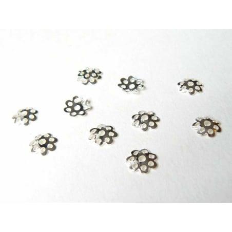 Acheter 50 coupelles pour perle couleur argent clair - 2,09€ en ligne sur La Petite Epicerie - 100% Loisirs créatifs