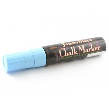 Marqueur craie bleu 15 mm