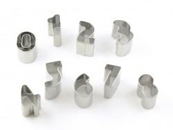 Ausstechform aus rostfreiem Stahl - Zahlen