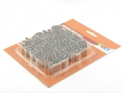 Emporte-pièces alphabet en inox