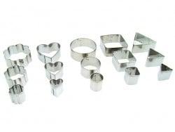 15 emportes-pièces assortis Fimo - 1
