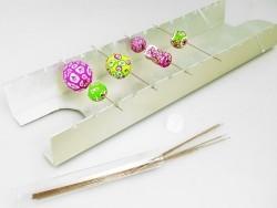 Support de cuisson pour perles en pâte polymère