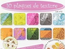 10 plaques de texture n°2