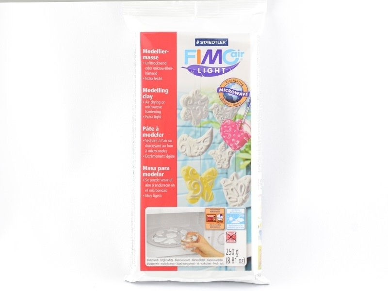 Acheter Pâte Fimo Air Light Blanc 250g - 7,60€ en ligne sur La Petite Epicerie - 100% Loisirs créatifs