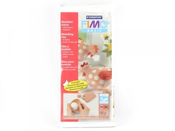 Fimo Air Basic modelling clay (500 g) - Terracotta