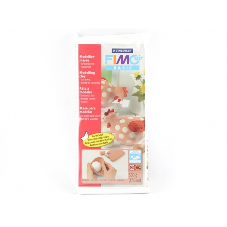 Pâte Fimo Air Basic Terracota 500g