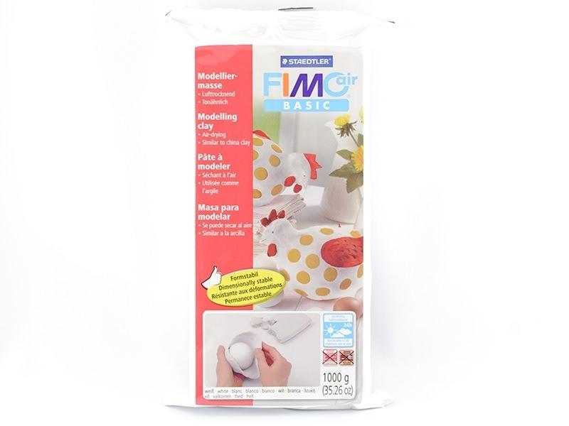 Acheter Pâte Fimo Air Basic Blanc 1kg - 6,80€ en ligne sur La Petite Epicerie - 100% Loisirs créatifs