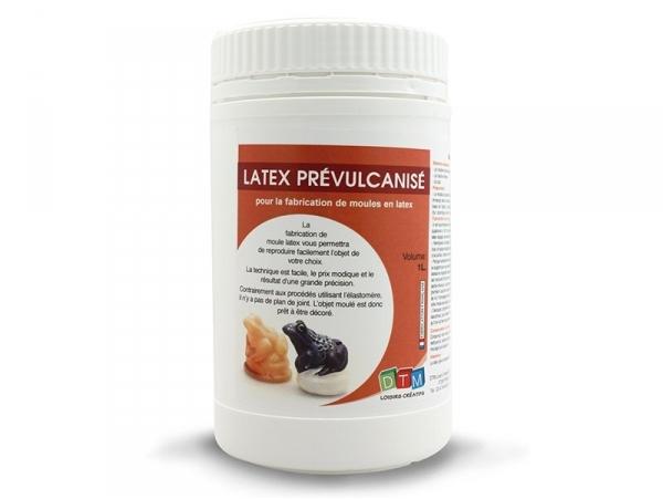 Prevulcanised latex