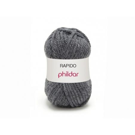 Laine à tricoter Rapido - Gris souris