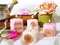 Romantic candle kit