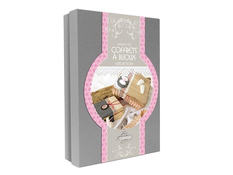 """Acheter Kit coffrets à bijoux """"discretion"""" - 19,90€ en ligne sur La Petite Epicerie - 100% Loisirs créatifs"""