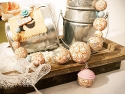 """Bead necklace kit - """"Douceur"""""""