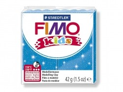 Fimo Kids - glitter blue no. 312