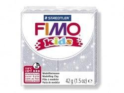 Pâte Fimo gris pailleté 812 Kids Fimo - 1