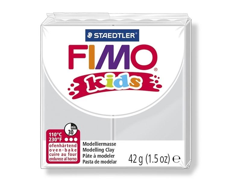 Pâte Fimo gris clair 80 Kids Fimo - 1