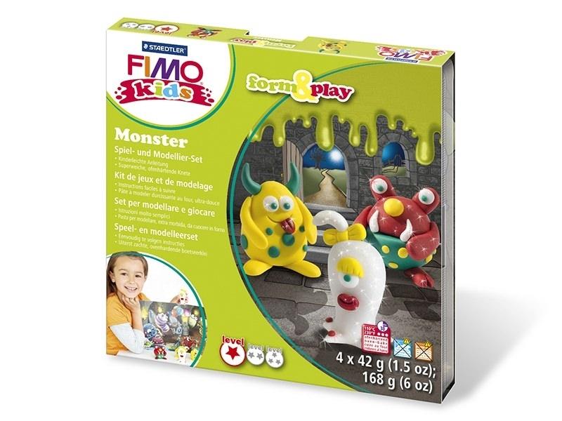 Acheter Kit de modelage et jeux - monstre - fimo kids - 10,99€ en ligne sur La Petite Epicerie - Loisirs créatifs