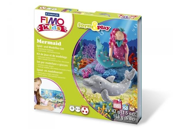 Acheter Kit de modelage et jeux - sirène - 10,99€ en ligne sur La Petite Epicerie - 100% Loisirs créatifs