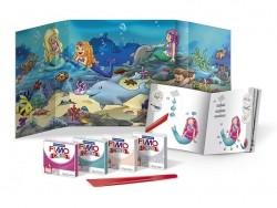 Kit de modelage et jeux - sirène