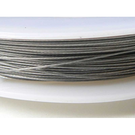 40 m of dark silver-coloured cable - 0.5 mm