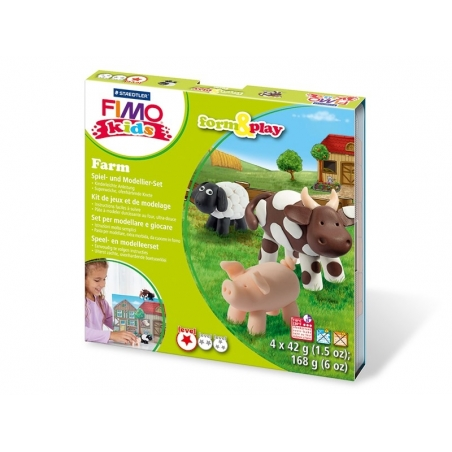 Acheter Kit de modelage et jeux - ferme - 10,99€ en ligne sur La Petite Epicerie - Loisirs créatifs