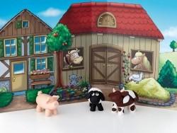 Kit de modelage et jeux - ferme