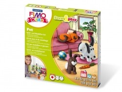 Kit de modelage et jeux - animaux domestiques