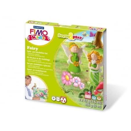 Kit de modelage et jeux - fées Fimo - 1