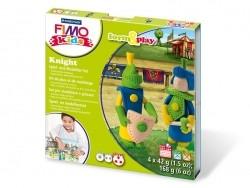 Kit de modelage et jeux - chevaliers Fimo - 1