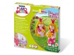 Kit de modelage et jeux - princesses