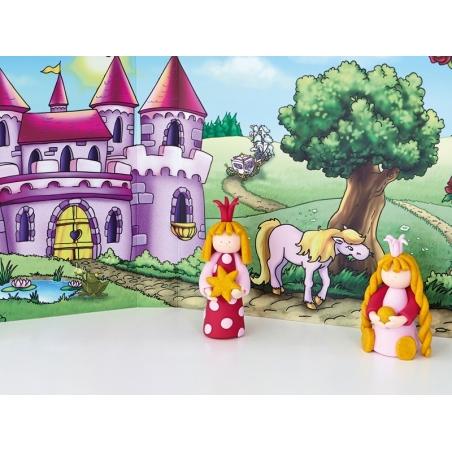 Acheter Kit de modelage et jeux - princesses - 10,99€ en ligne sur La Petite Epicerie - 100% Loisirs créatifs