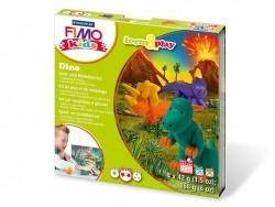 Kit de modelage et jeux - dinosaures Fimo - 1