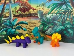 Kit de modelage et jeux - dinosaures