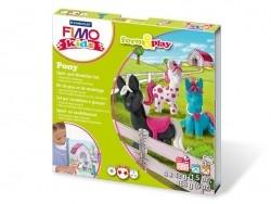 Spiel- und Modellierset - Pony