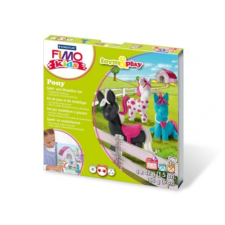 Form and play kit - Pony