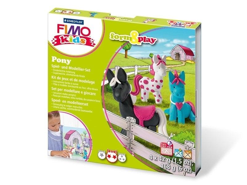 Acheter Kit de modelage et jeux - poney - 10,99€ en ligne sur La Petite Epicerie - 100% Loisirs créatifs