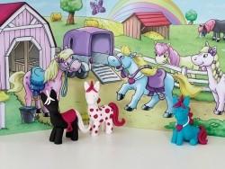 Kit de modelage et jeux - poney