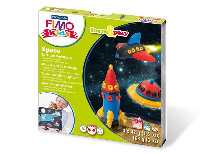 Kit de modelage et jeux - espace