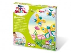 Kit de modelage et jeux - papillons