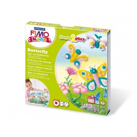 Acheter Kit de modelage et jeux - papillons - 10,99€ en ligne sur La Petite Epicerie - 100% Loisirs créatifs