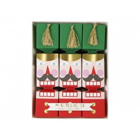 6 petits crackers Casse-Noisette